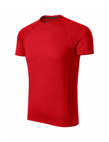 2Adler MALFINI Koszulka męska Destiny 175 czerwony