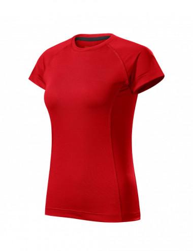2Adler MALFINI Koszulka damska Destiny 176 czerwony