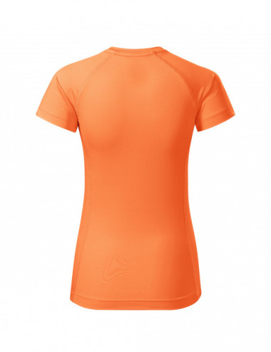 2Adler MALFINI Koszulka damska Destiny 176 neon mandarine