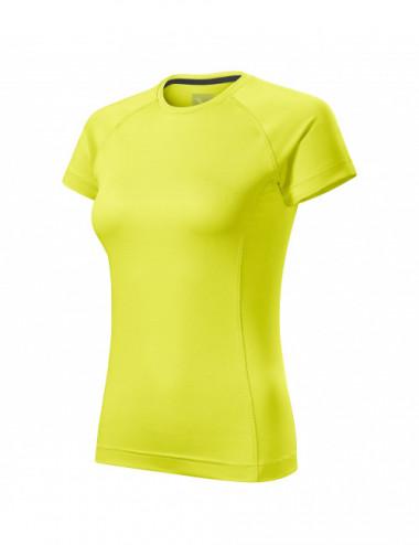 2Adler MALFINI Koszulka damska Destiny 176 neon yellow