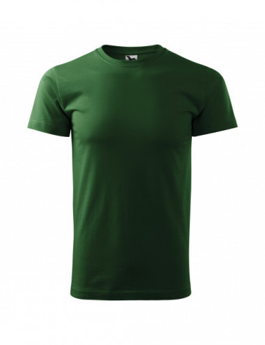 2Adler MALFINI Koszulka męska Basic 129 zieleń butelkowa