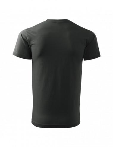 2Adler MALFINI Koszulka męska Basic 129 ciemny khaki