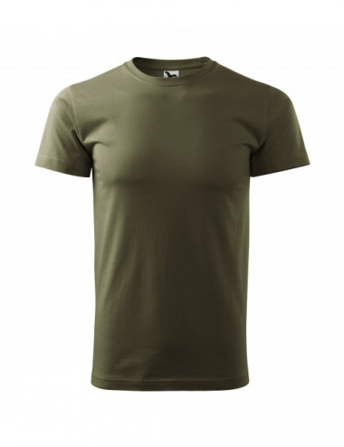 2Adler MALFINI Koszulka męska Basic 129 military