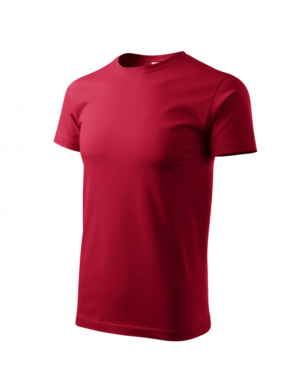Adler MALFINI Koszulka męska Basic 129 marlboro czerwony