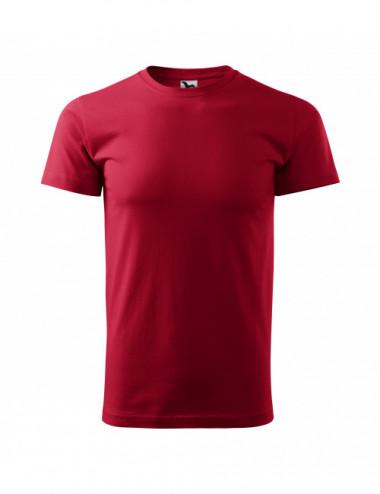 2Adler MALFINI Koszulka męska Basic 129 marlboro czerwony