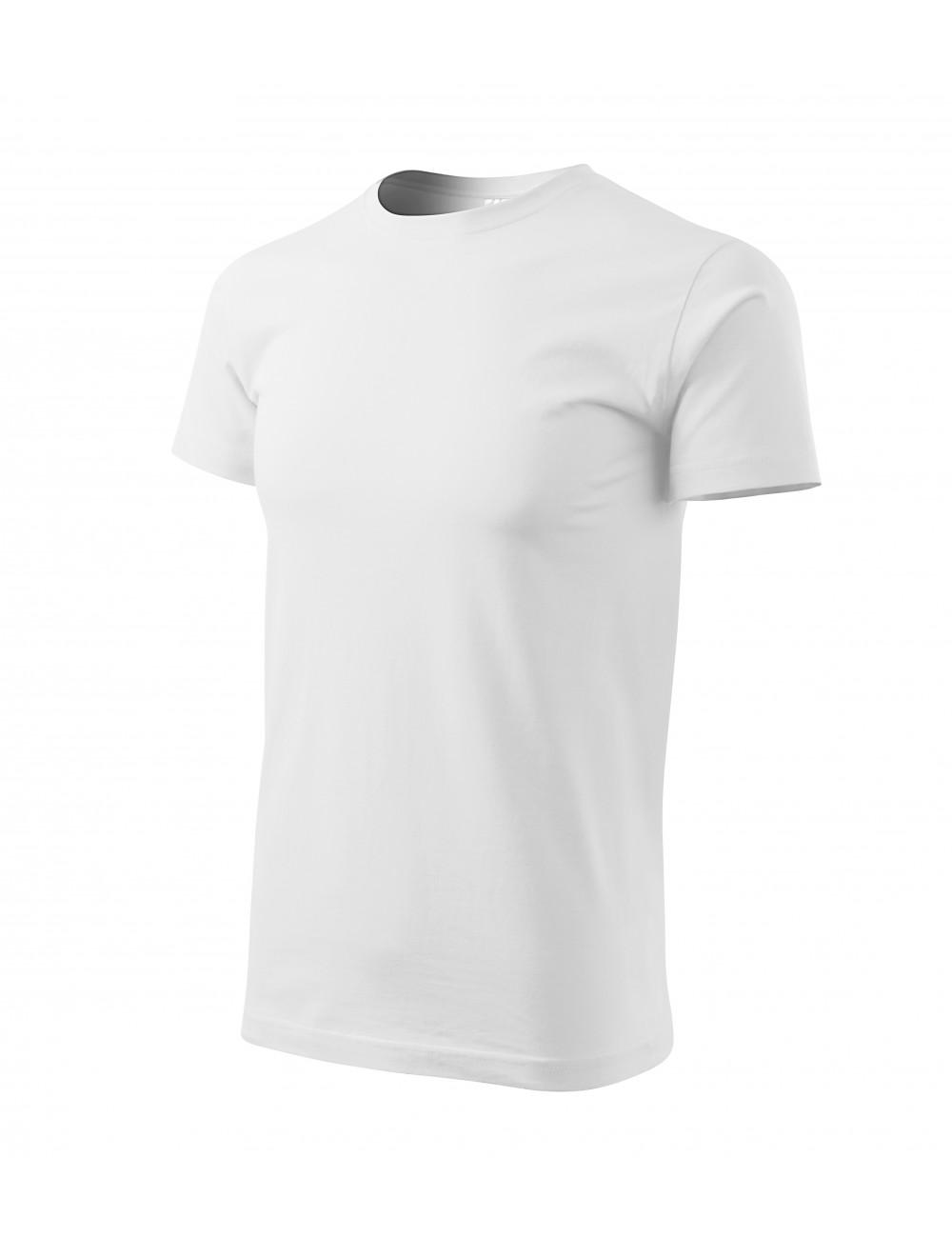Adler MALFINI Koszulka męska Basic 129 biały