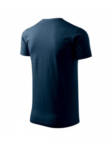 2Adler MALFINI Koszulka męska Basic 129 granatowy