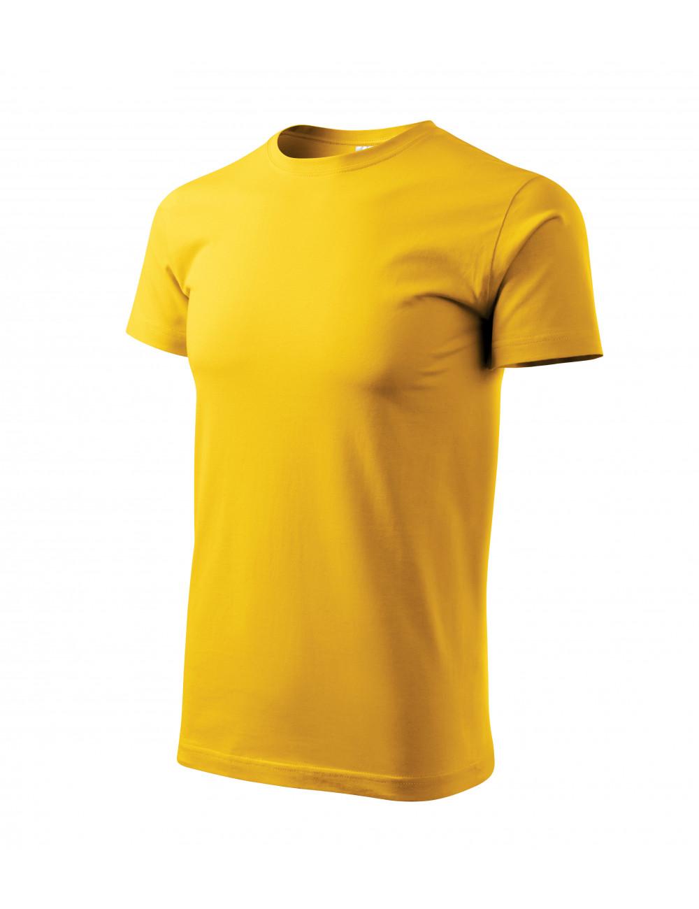 Adler MALFINI Koszulka męska Basic 129 żółty