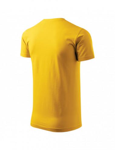 2Adler MALFINI Koszulka męska Basic 129 żółty