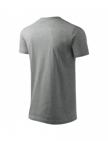 2Adler MALFINI Koszulka męska Basic 129 ciemnoszary melanż