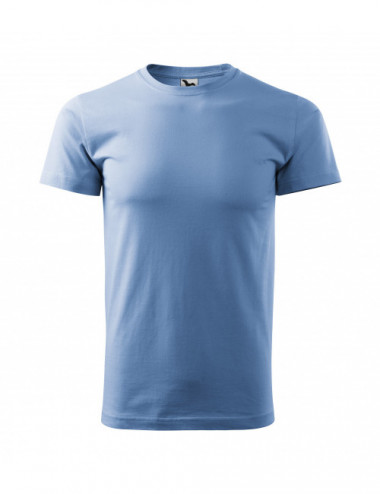 2Adler MALFINI Koszulka męska Basic 129 błękitny