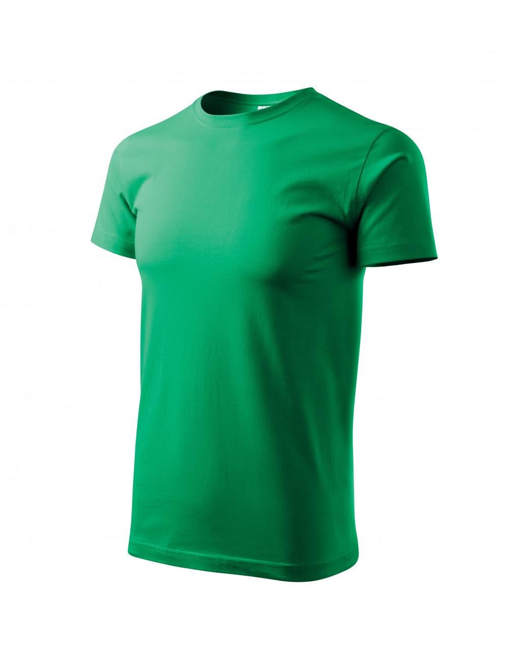 Adler MALFINI Koszulka męska Basic 129 zieleń trawy