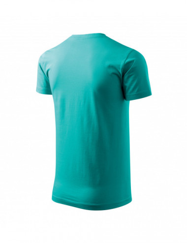 2Adler MALFINI Koszulka męska Basic 129 szmaragdowy