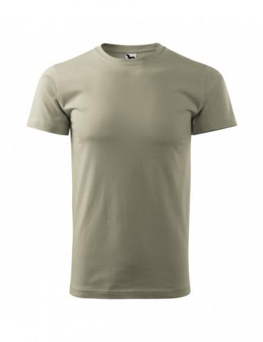 2Adler MALFINI Koszulka męska Basic 129 jasny khaki