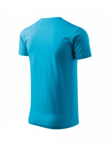 2Adler MALFINI Koszulka męska Basic 129 turkus