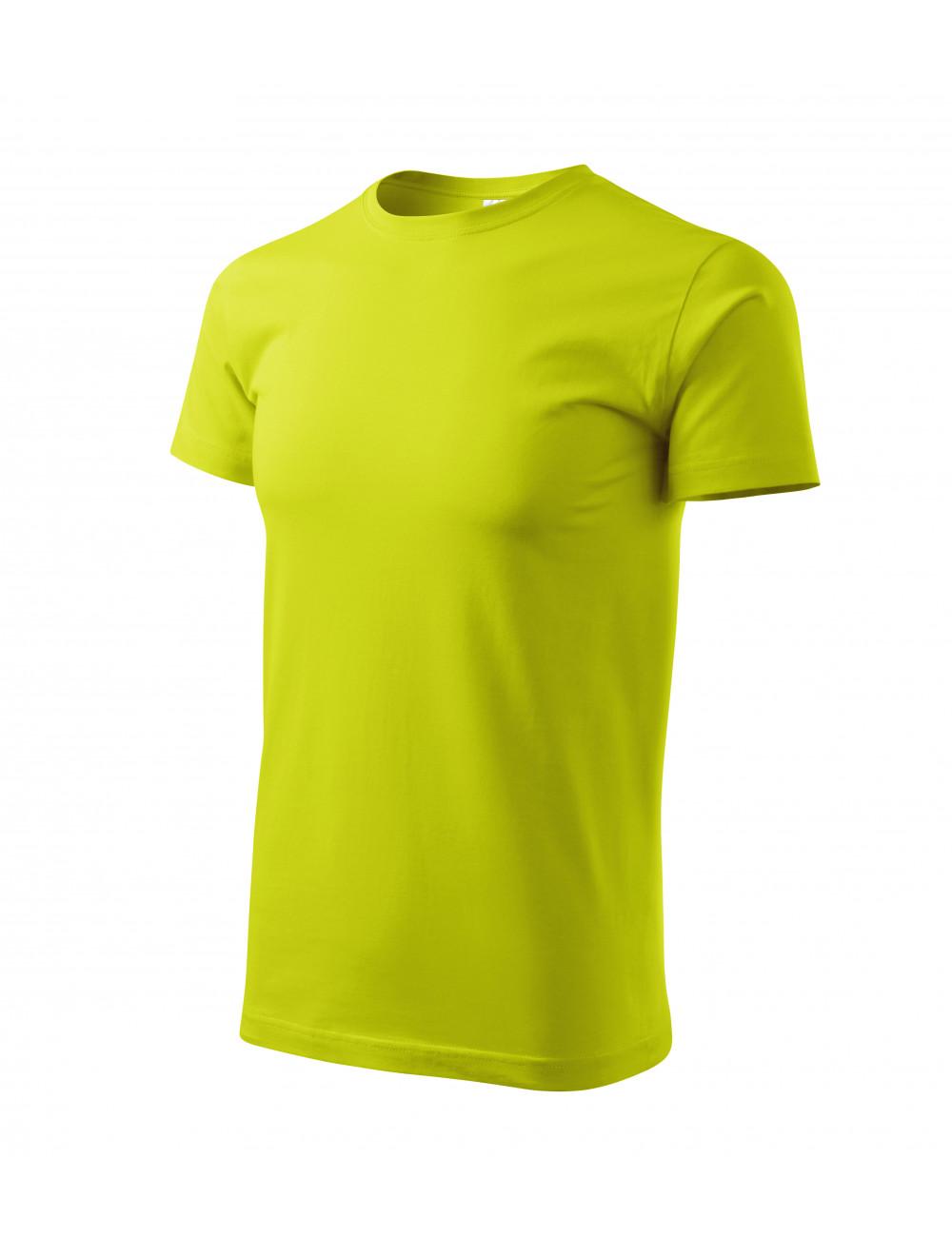 Adler MALFINI Koszulka męska Basic 129 limetka
