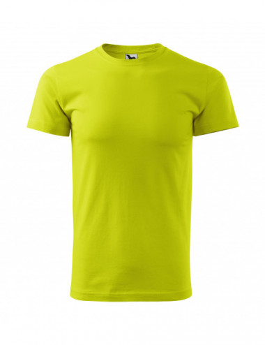 2Adler MALFINI Koszulka męska Basic 129 limetka