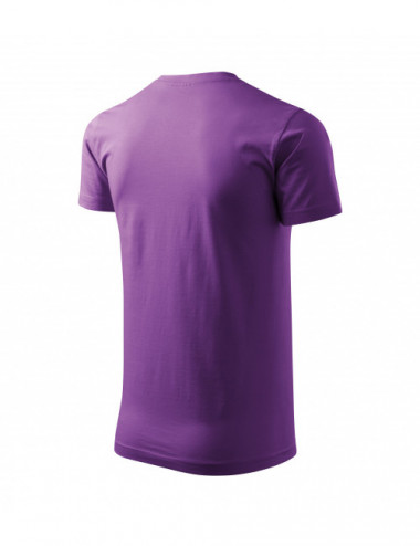 2Adler MALFINI Koszulka męska Basic 129 fioletowy
