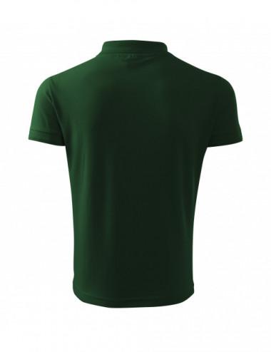 2Adler MALFINI Koszulka polo męska Pique Polo 203 zieleń butelkowa
