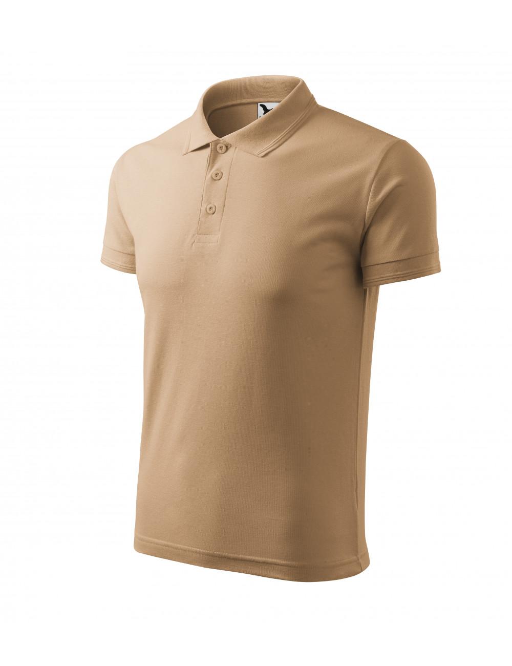 Adler MALFINI Koszulka polo męska Pique Polo 203 piaskowy