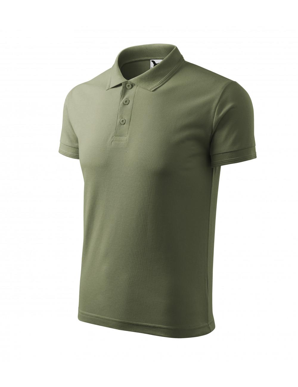 Adler MALFINI Koszulka polo męska Pique Polo 203 khaki