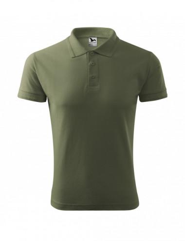 2Adler MALFINI Koszulka polo męska Pique Polo 203 khaki