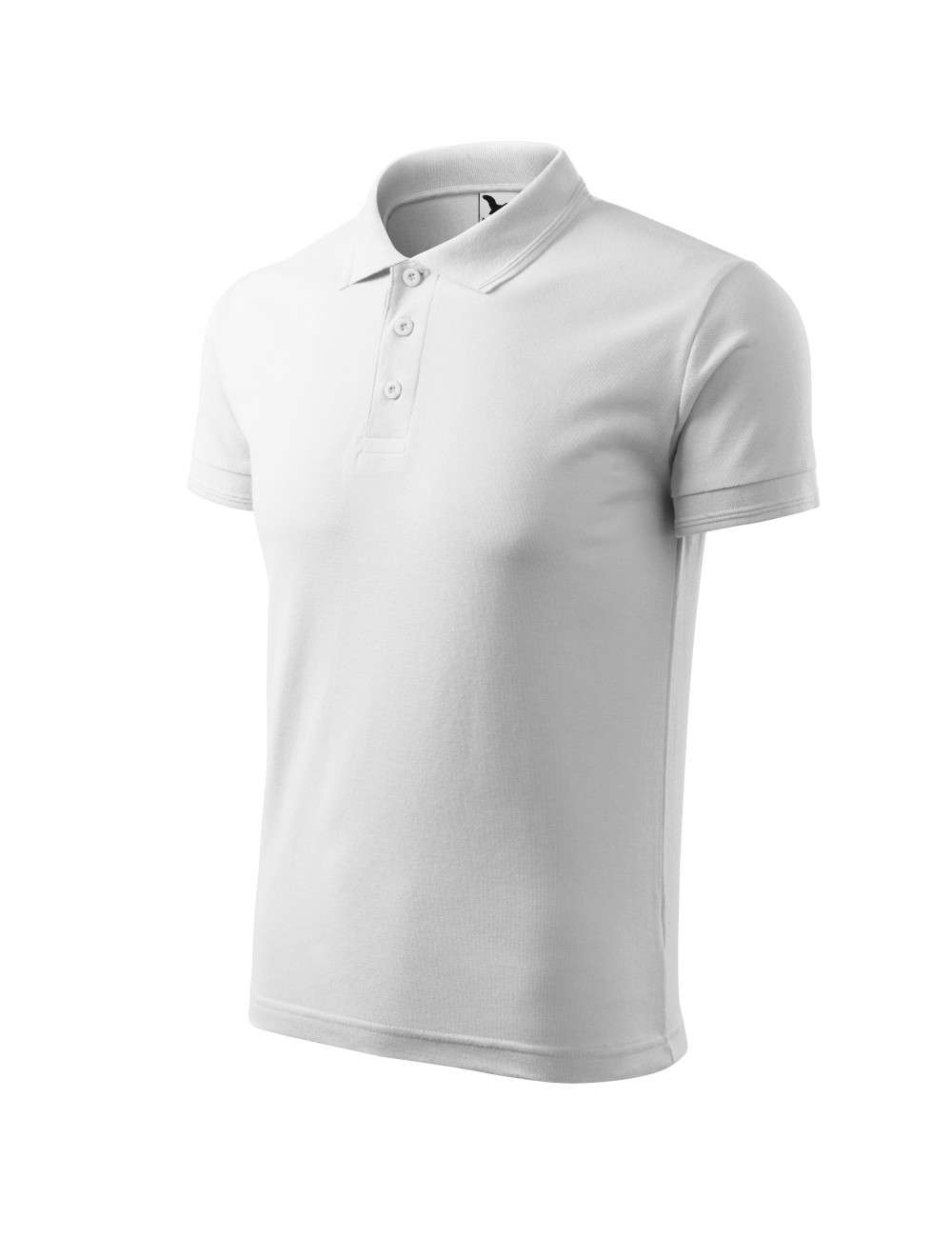 Adler MALFINI Koszulka polo męska Pique Polo 203 biały