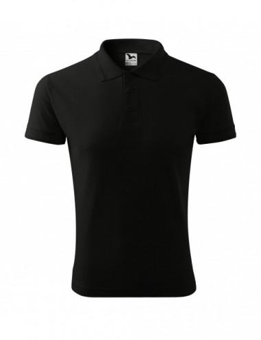 2Adler MALFINI Koszulka polo męska Pique Polo 203 czarny