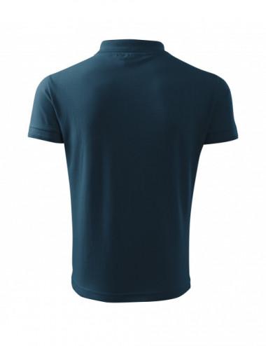 2Adler MALFINI Koszulka polo męska Pique Polo 203 granatowy