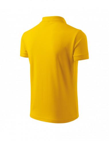 2Adler MALFINI Koszulka polo męska Pique Polo 203 żółty