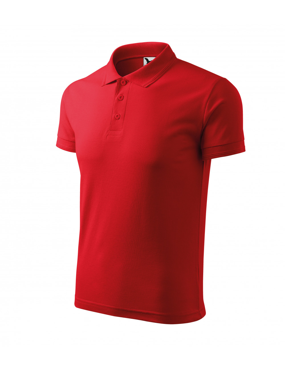 Adler MALFINI Koszulka polo męska Pique Polo 203 czerwony