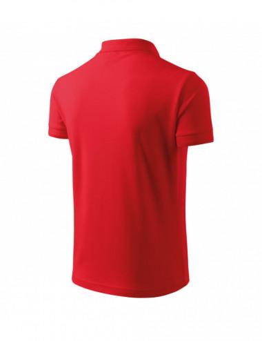2Adler MALFINI Koszulka polo męska Pique Polo 203 czerwony