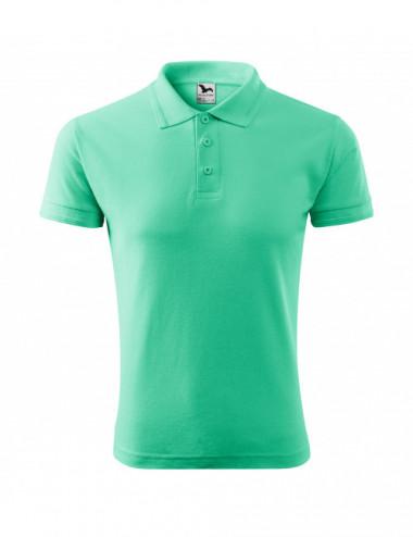 2Adler MALFINI Koszulka polo męska Pique Polo 203 miętowy