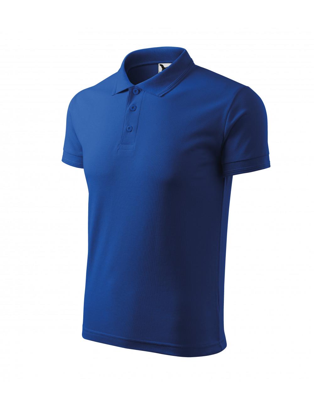 Adler MALFINI Koszulka polo męska Pique Polo 203 chabrowy