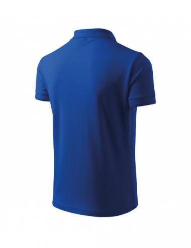 2Adler MALFINI Koszulka polo męska Pique Polo 203 chabrowy
