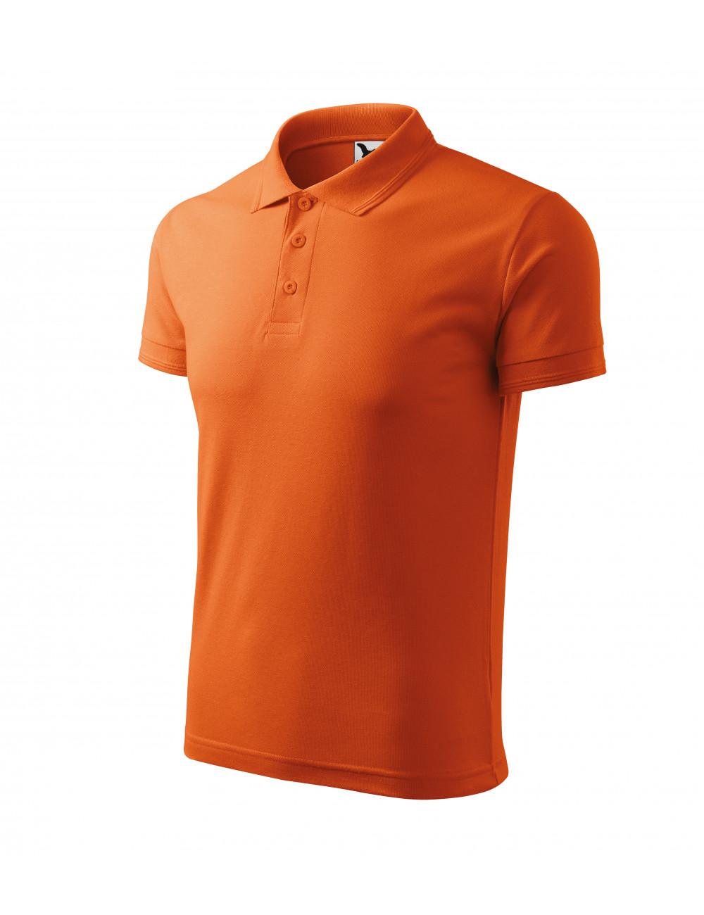 Adler MALFINI Koszulka polo męska Pique Polo 203 pomarańczowy