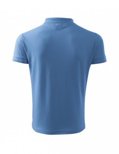 2Adler MALFINI Koszulka polo męska Pique Polo 203 błękitny