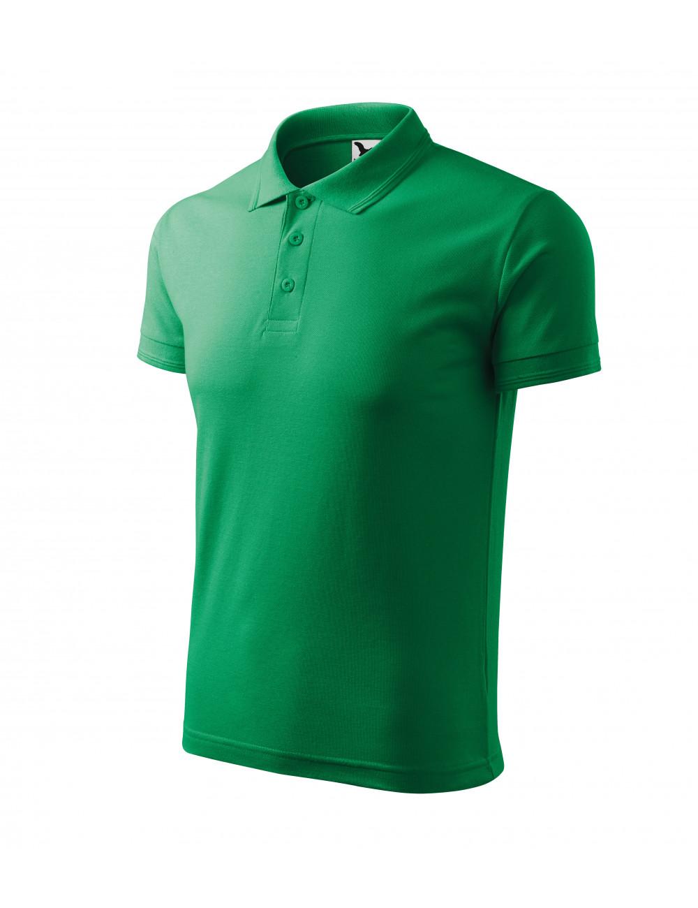 Adler MALFINI Koszulka polo męska Pique Polo 203 zieleń trawy