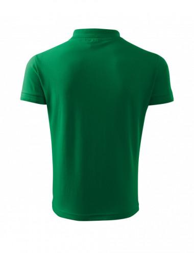 2Adler MALFINI Koszulka polo męska Pique Polo 203 zieleń trawy