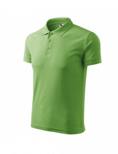 2Adler MALFINI Koszulka polo męska Pique Polo 203 groszkowy