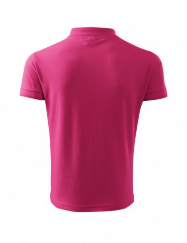 2Adler MALFINI Koszulka polo męska Pique Polo 203 czerwień purpurowa