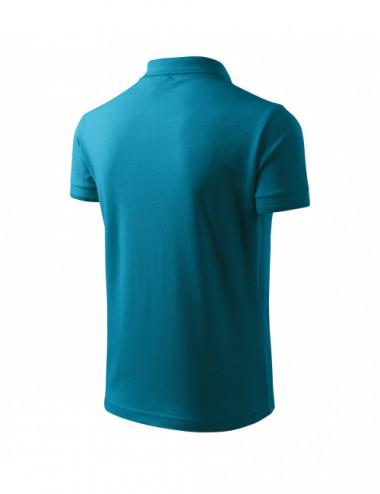 2Adler MALFINI Koszulka polo męska Pique Polo 203 ciemny turkus