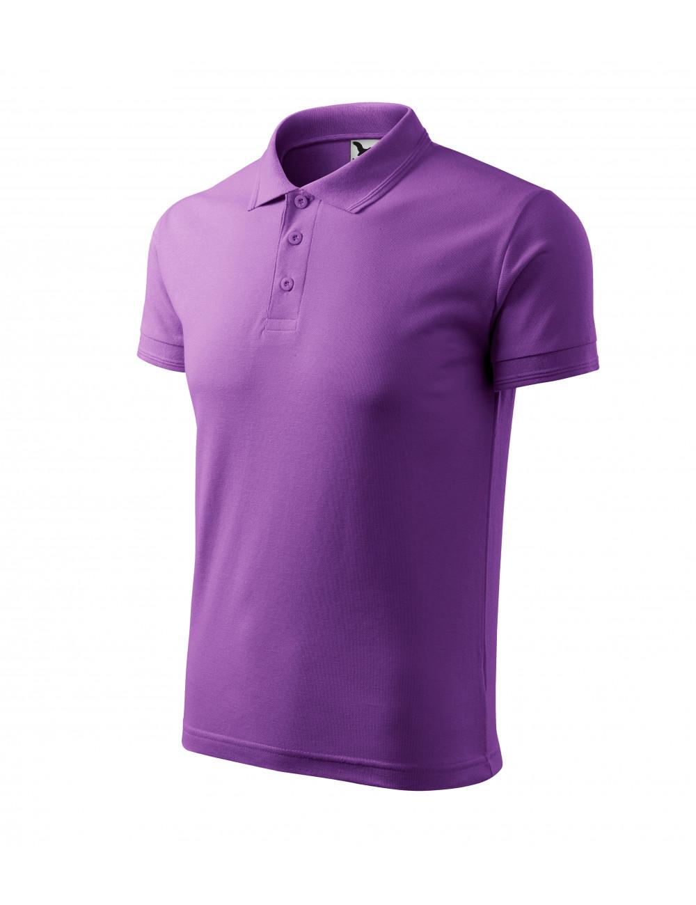 Adler MALFINI Koszulka polo męska Pique Polo 203 fioletowy