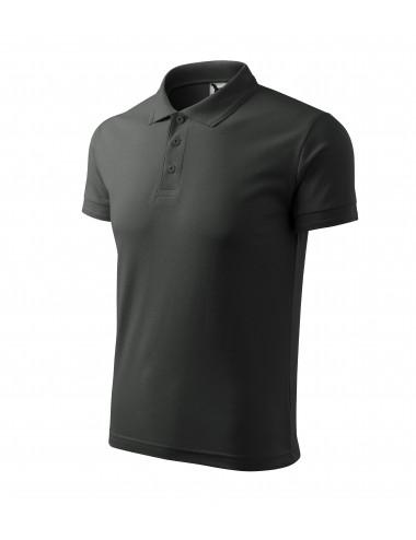 2Adler MALFINI Koszulka polo męska Pique Polo 203 ciemny khaki