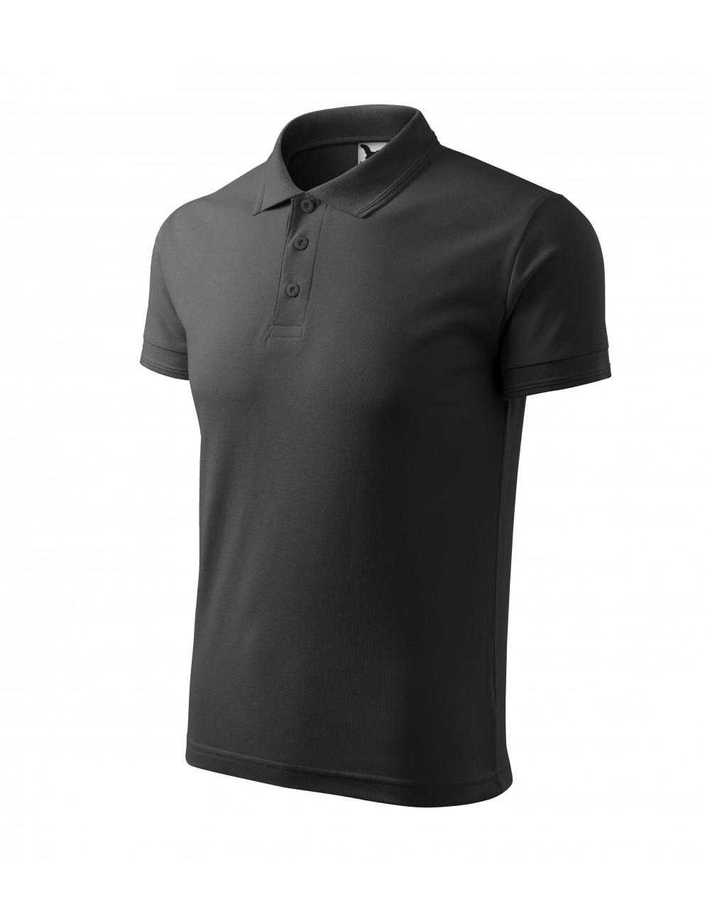 Adler MALFINI Koszulka polo męska Pique Polo 203 ciemny khaki