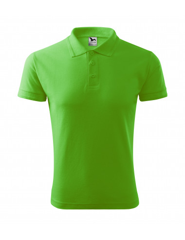 2Adler MALFINI Koszulka polo męska Pique Polo 203 green apple