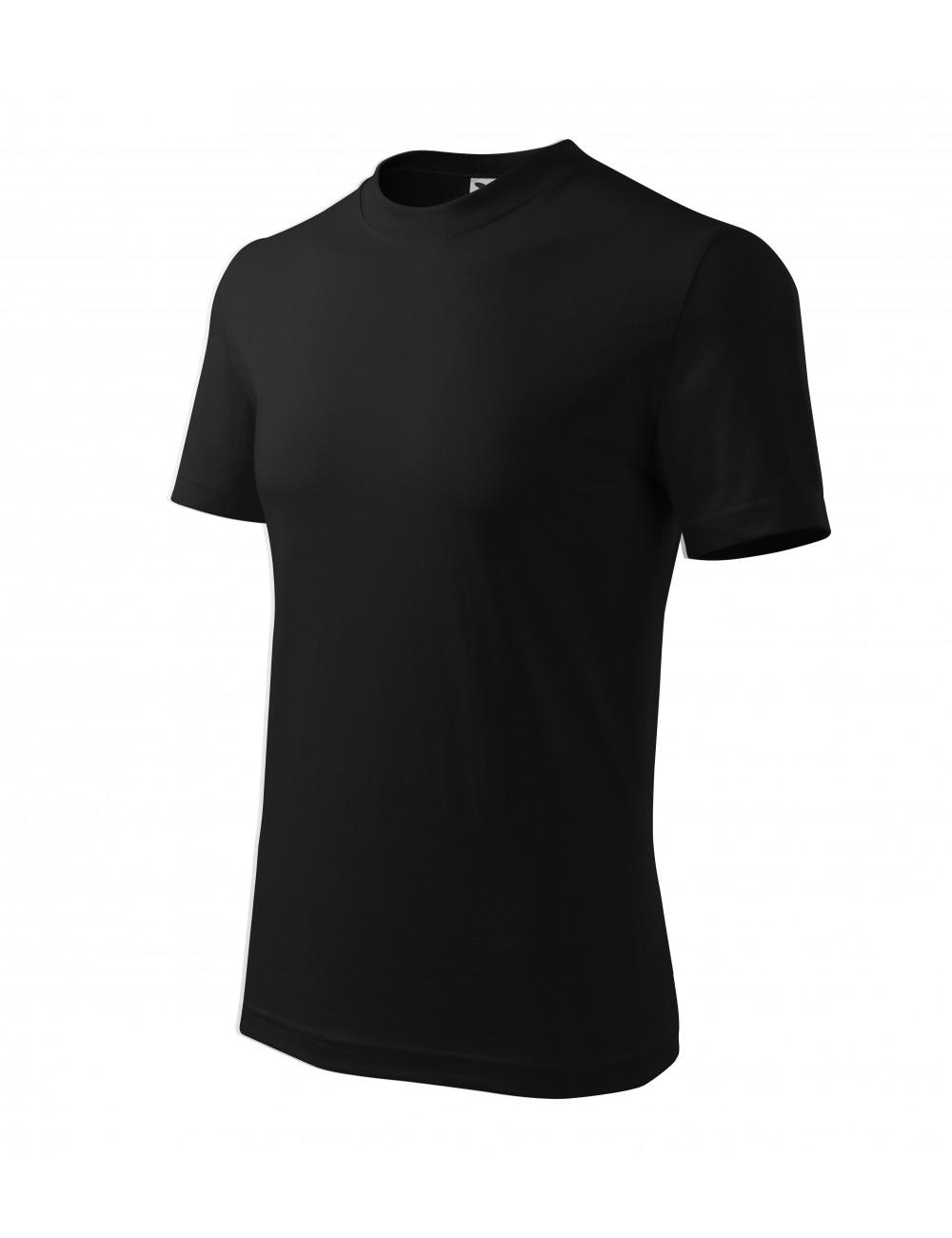 Adler MALFINI Koszulka unisex Classic 101 czarny