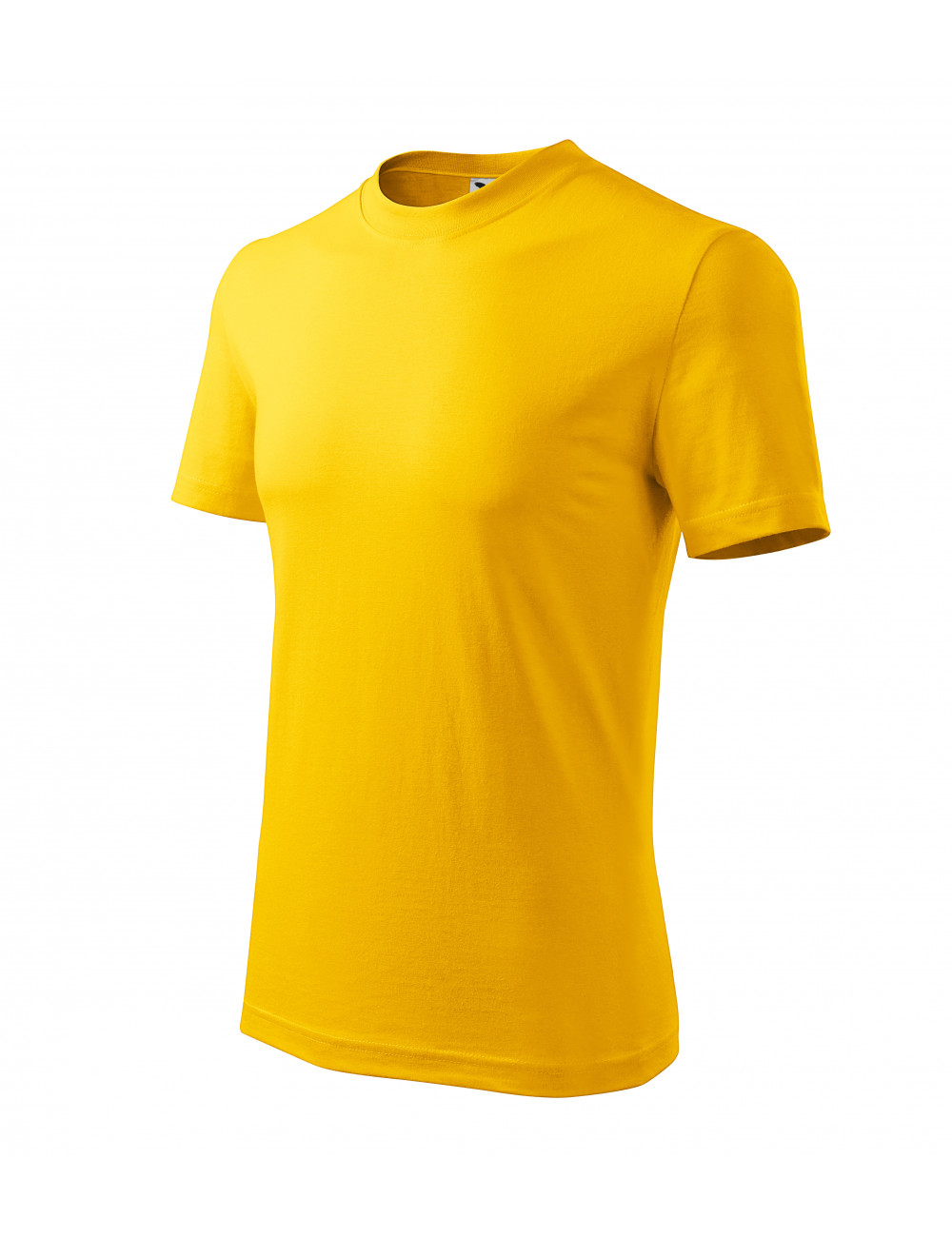 Adler MALFINI Koszulka unisex Classic 101 żółty