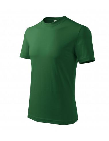 2Adler MALFINI Koszulka unisex Classic 101 zieleń butelkowa