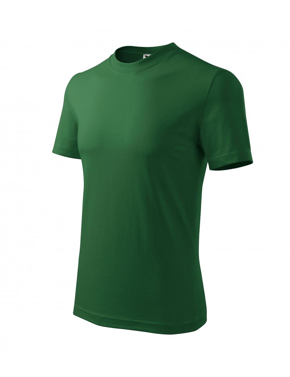 Adler MALFINI Koszulka unisex Classic 101 zieleń butelkowa